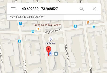 Verifying CoreLocationCLI's output vs. Google Maps
